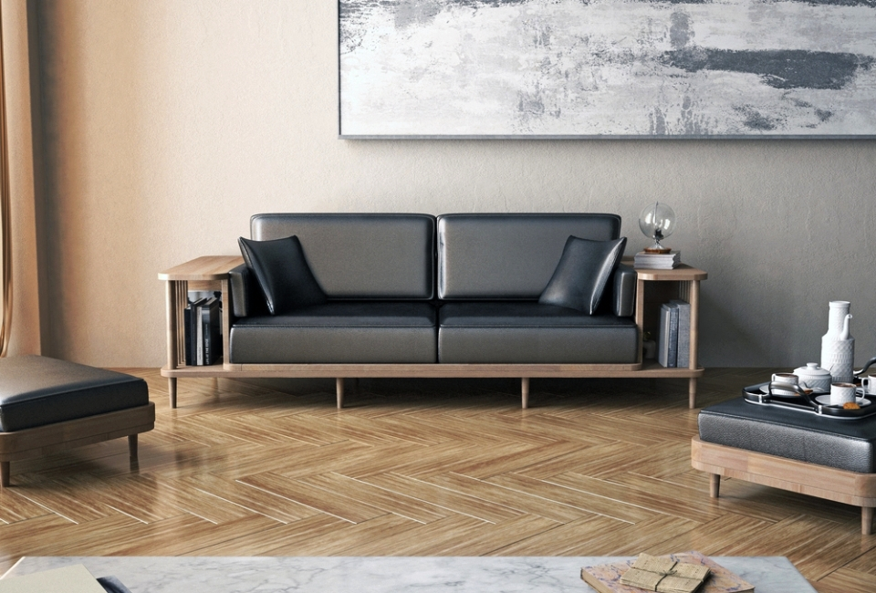WEWOOD Scaffold Sofa by André Teoman Studio