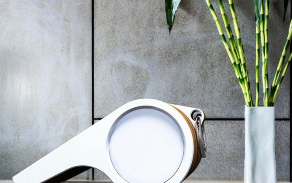 Whistle-shaped Bluetooh Speaker by Mula Preta Design Studio