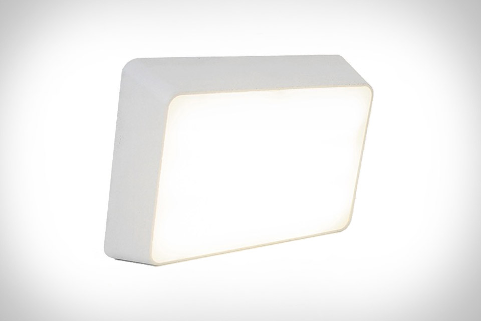 Brick Lamp is activated when raised(on) or laid flat(off).