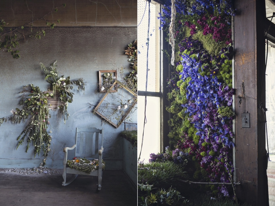 4,000 flowers adorns an abandoned house in Detroit