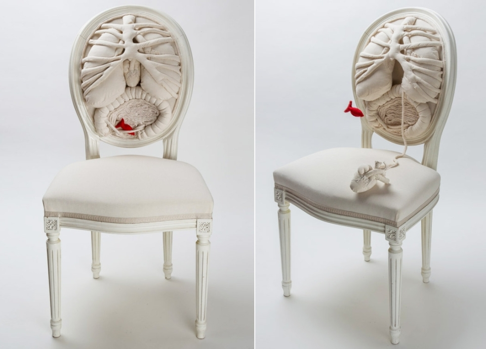 Anatomy Chair by Pauline Kriel and Anouk Cazin