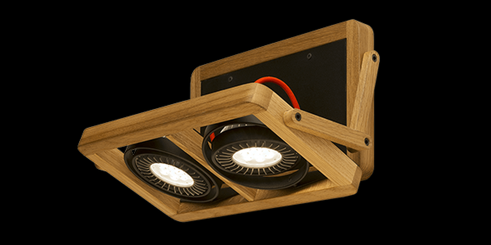 Arbo wooden luminaries