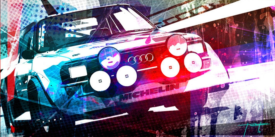 Audi-Quattro by Design Piero Auto Art