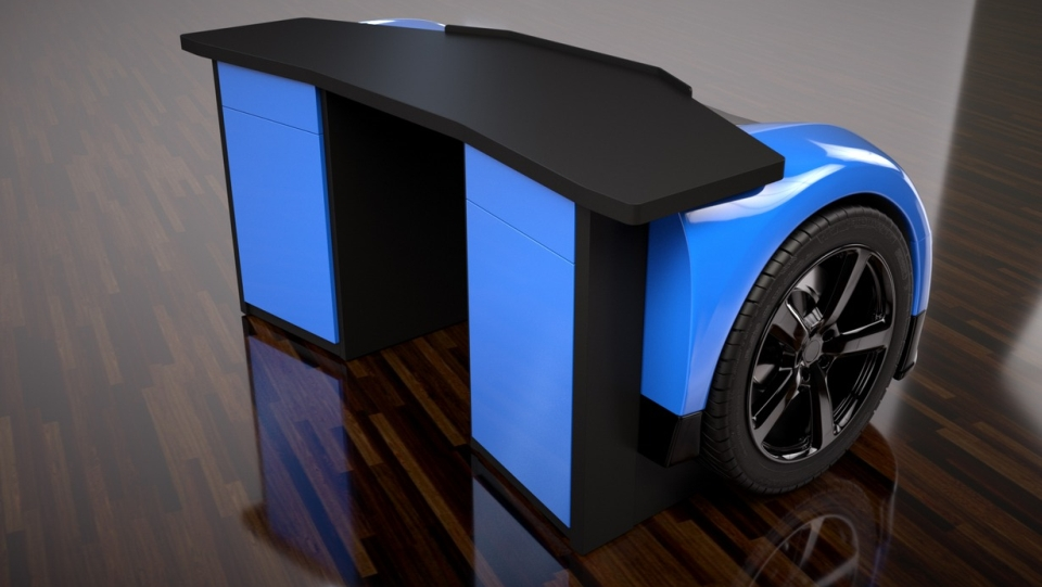 Bugatti Veyron Desk