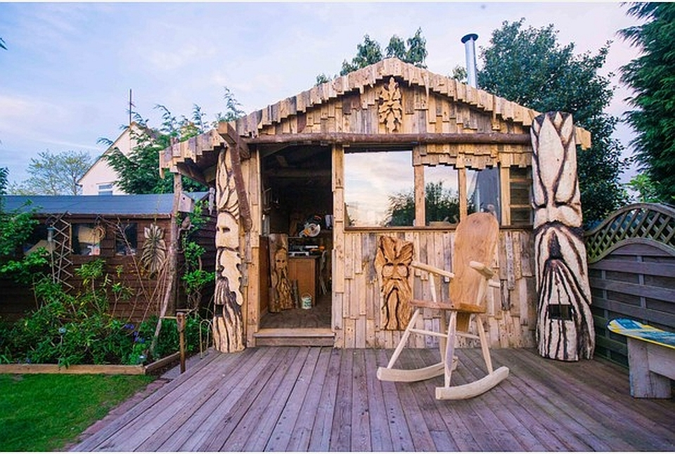 Cabin of the Green Man