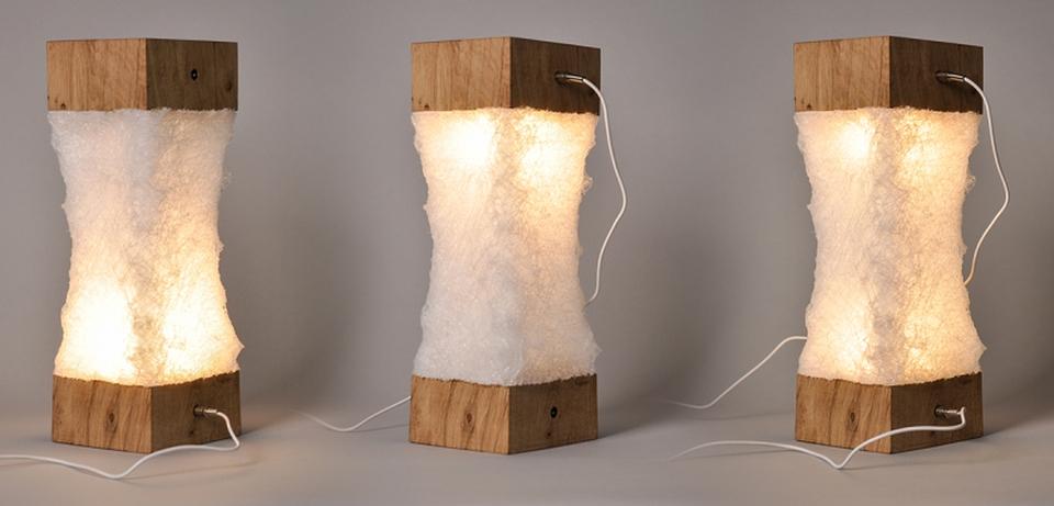 Chrysalide multipurpose lamp