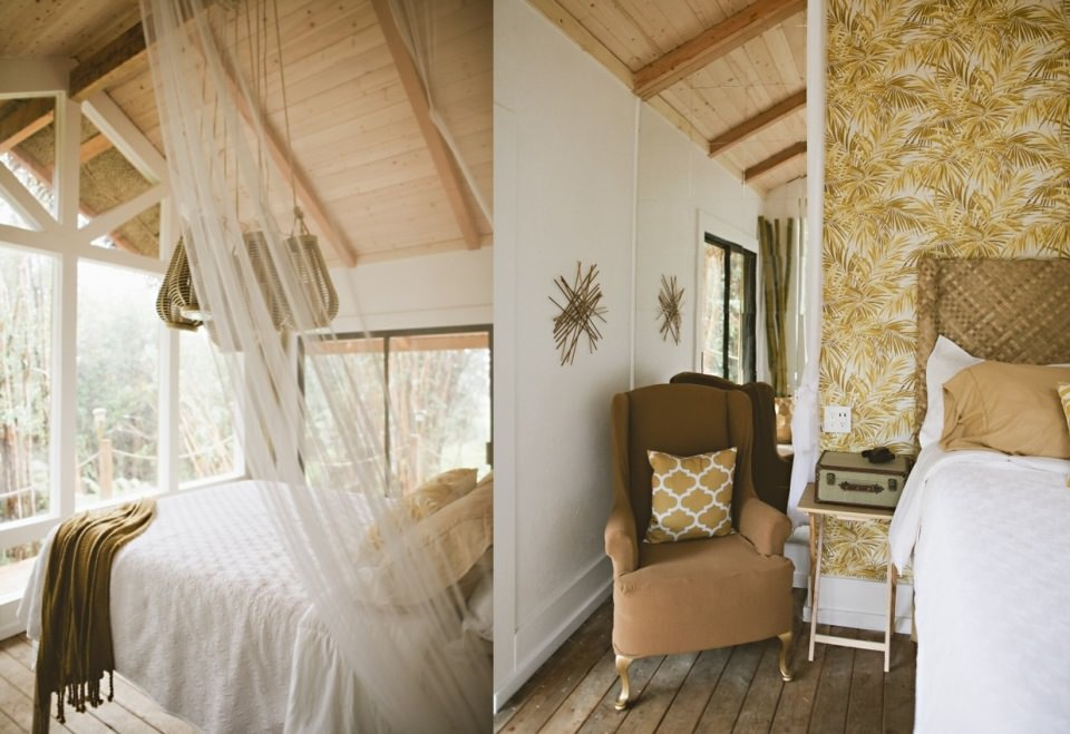 Bedroom comes with queen size bed, generous windows and doors for natural light and view