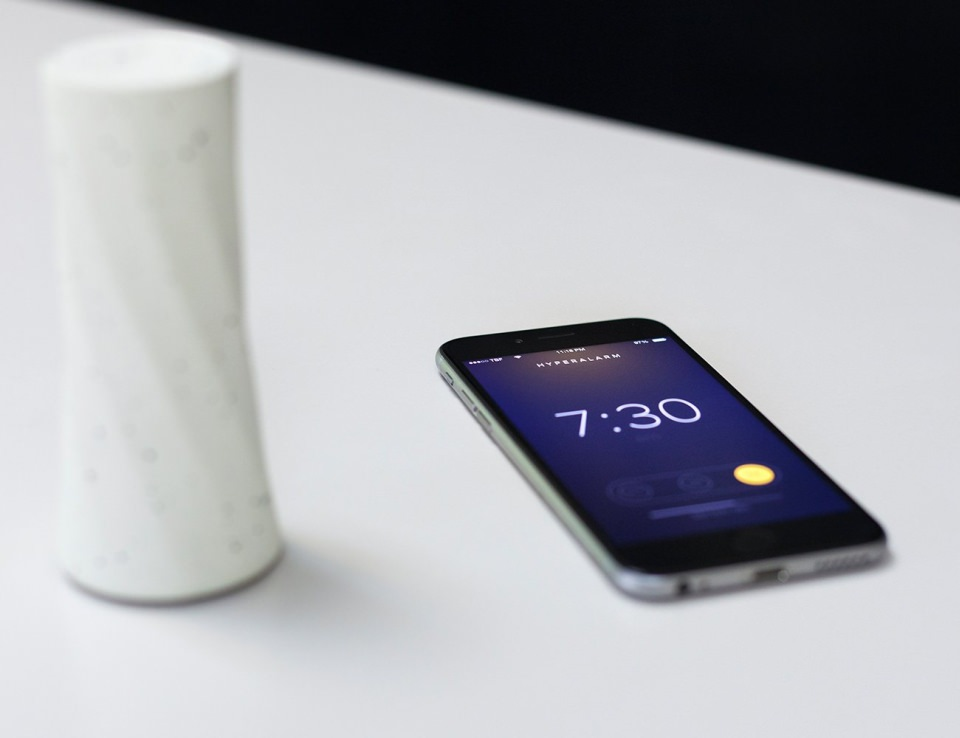 Smart alarm connected with your smartphone