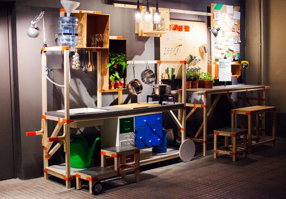 IKEA Hacka Modular Kitchen Concept