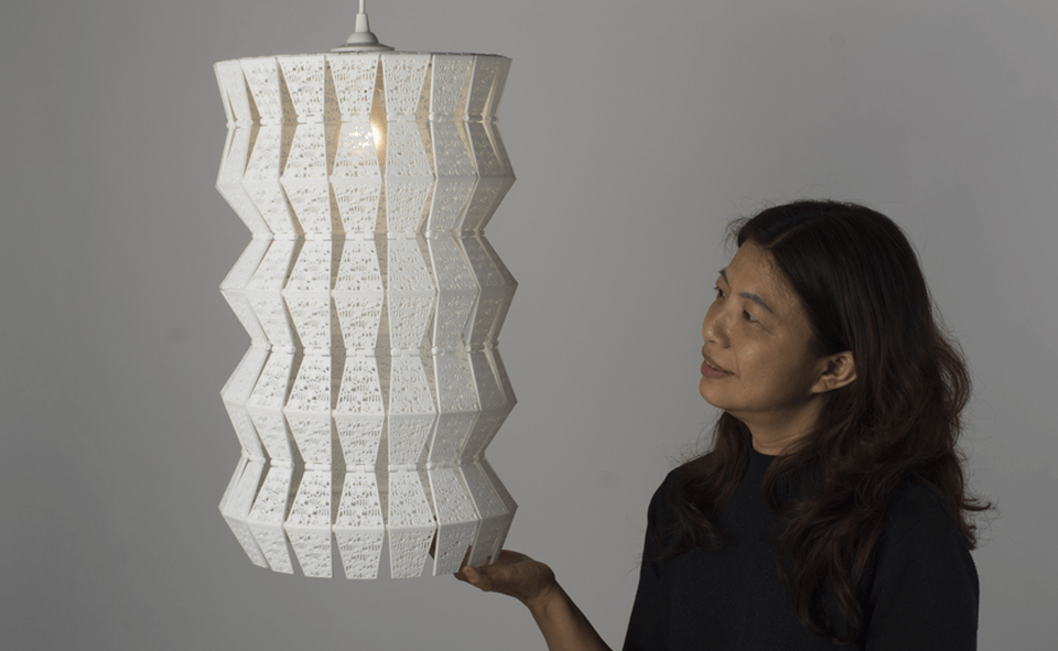 It's Love 4D Printed Lamp