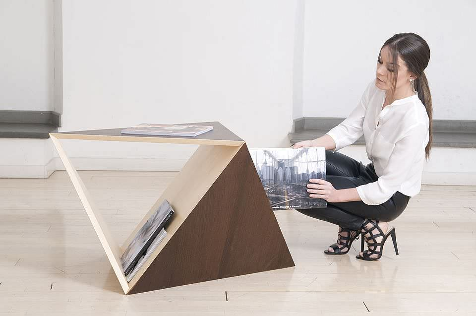 Limits Is A Carefully Designed Coffee Table That Challenges Geometric Shapes