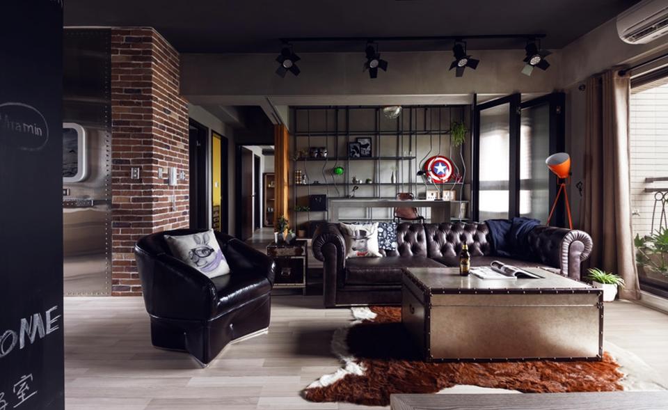 Marvel-themed bachelor by House Design Studio