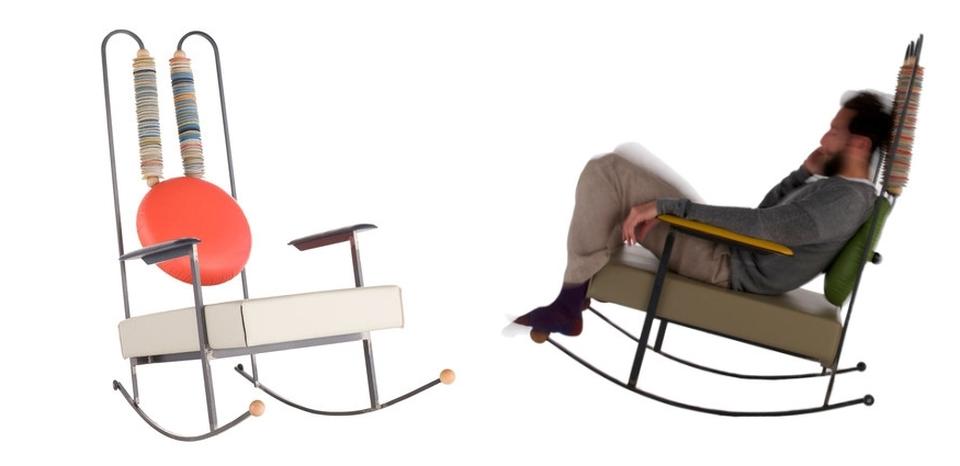 Rulla Rocking Chair by Mario Milana