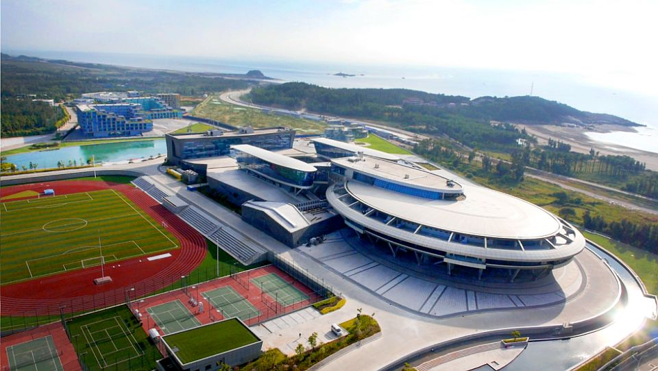 STAR TREK spaceship replica headquarters in China