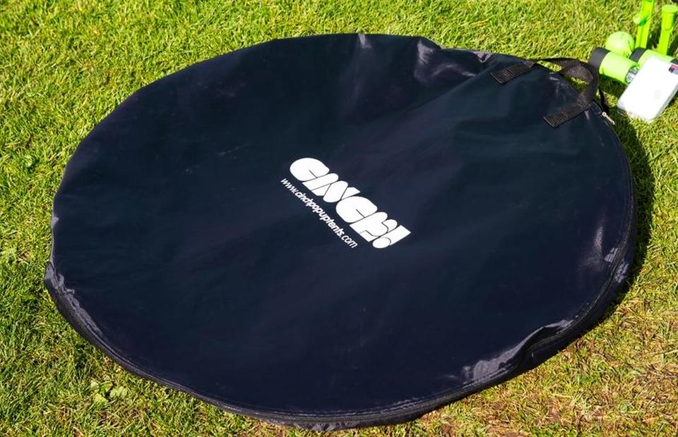 Solar-powered Cinch Pop-up Tent