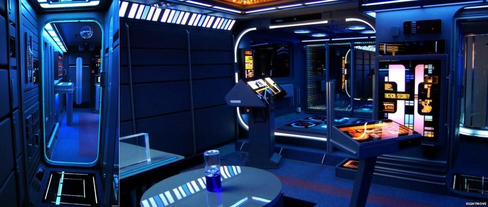 Star Trek-themed apartment