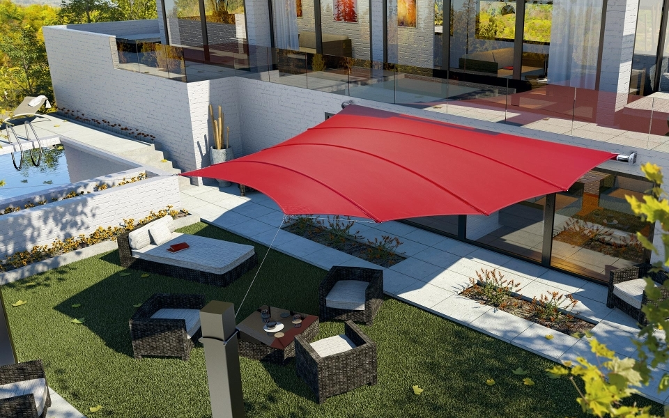 Trapez4Sun Shade Sails by C4Sun