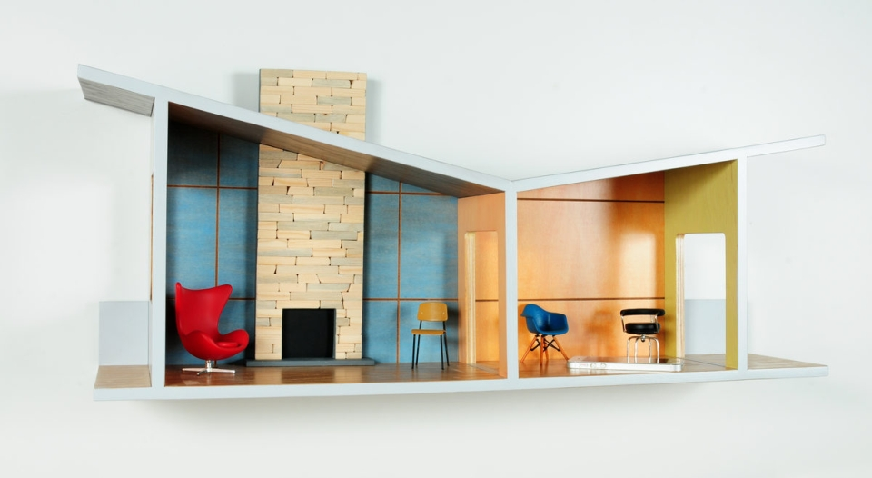 Walled Estates Floating House Shelves