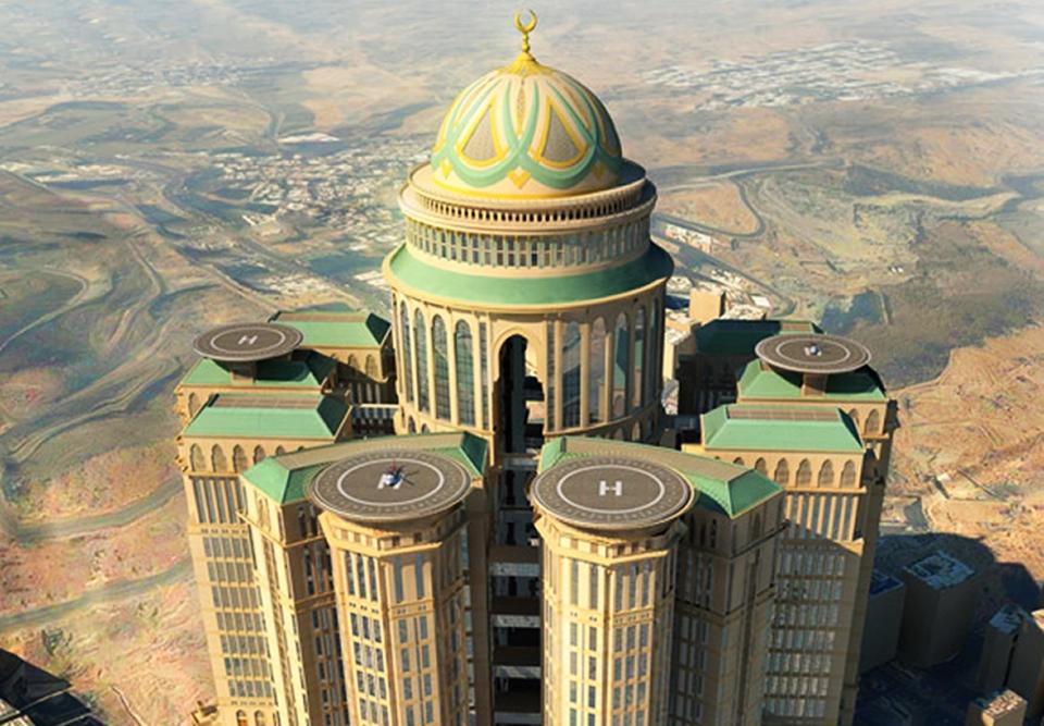 World's Biggest Hotel Abraj Kudai