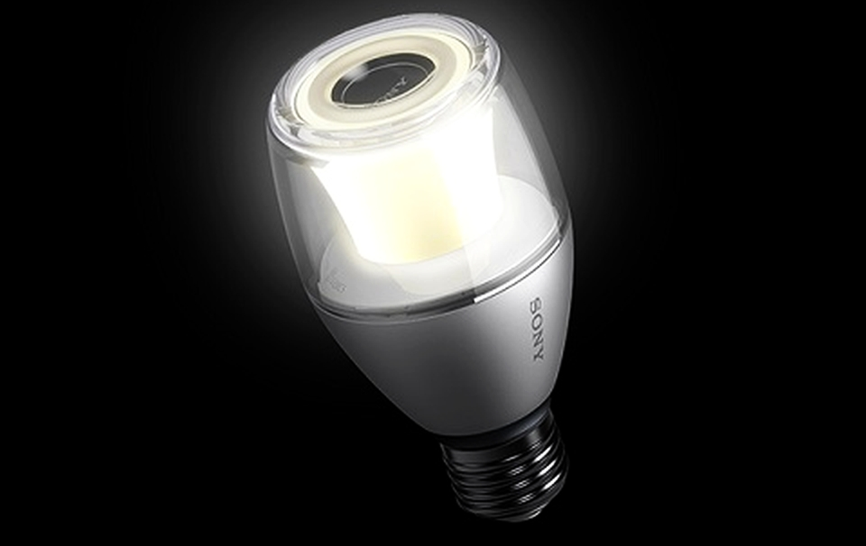 Sony's LED light bulb