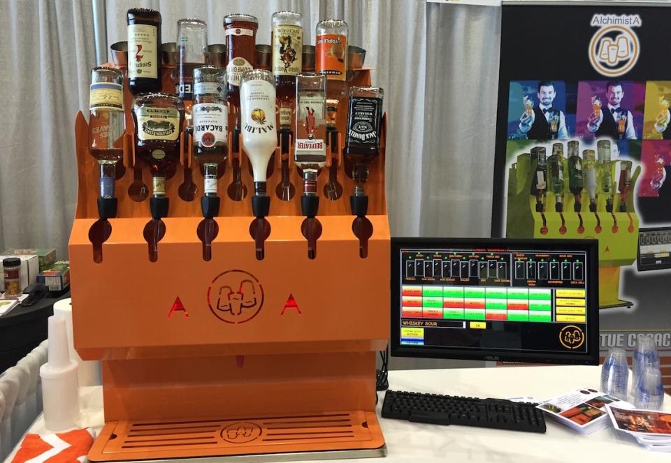 Alchimist Robot Bartender