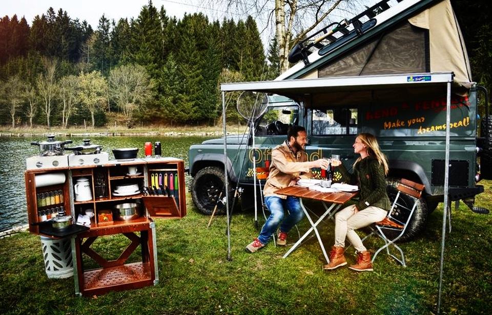 Camp Champ Outdoor Kitchen
