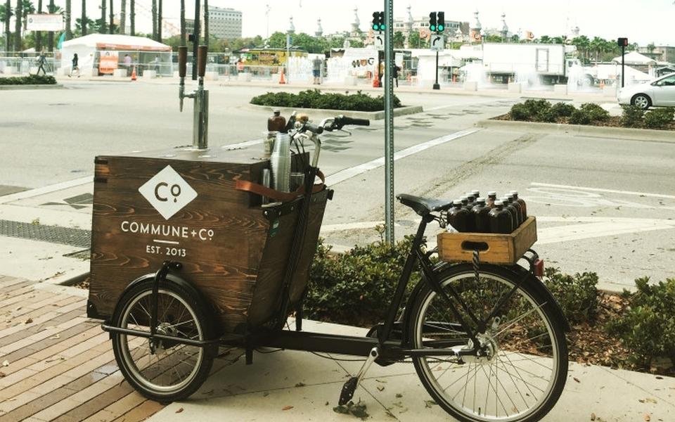Commune + Co. Pressure-brewed Cold Coffee Trike