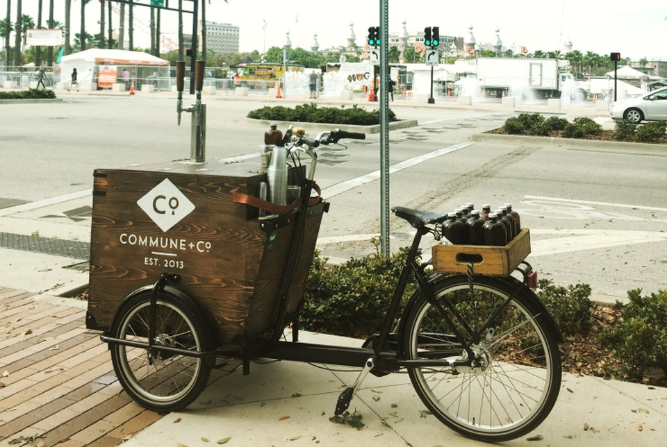 Commune + Co. Pressure-brewed Cold Coffee Trike