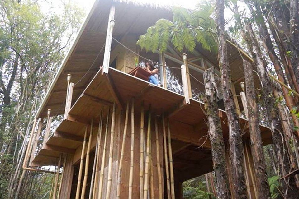 The Dreamy Tropical House is completely off-grid