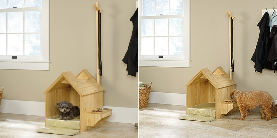 Inside Dog House by Sauder