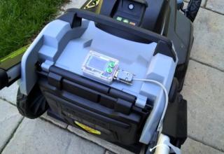 Internet-enabled Lawnmower
