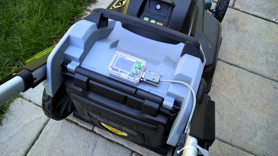 Internet-enabled Lawnmower