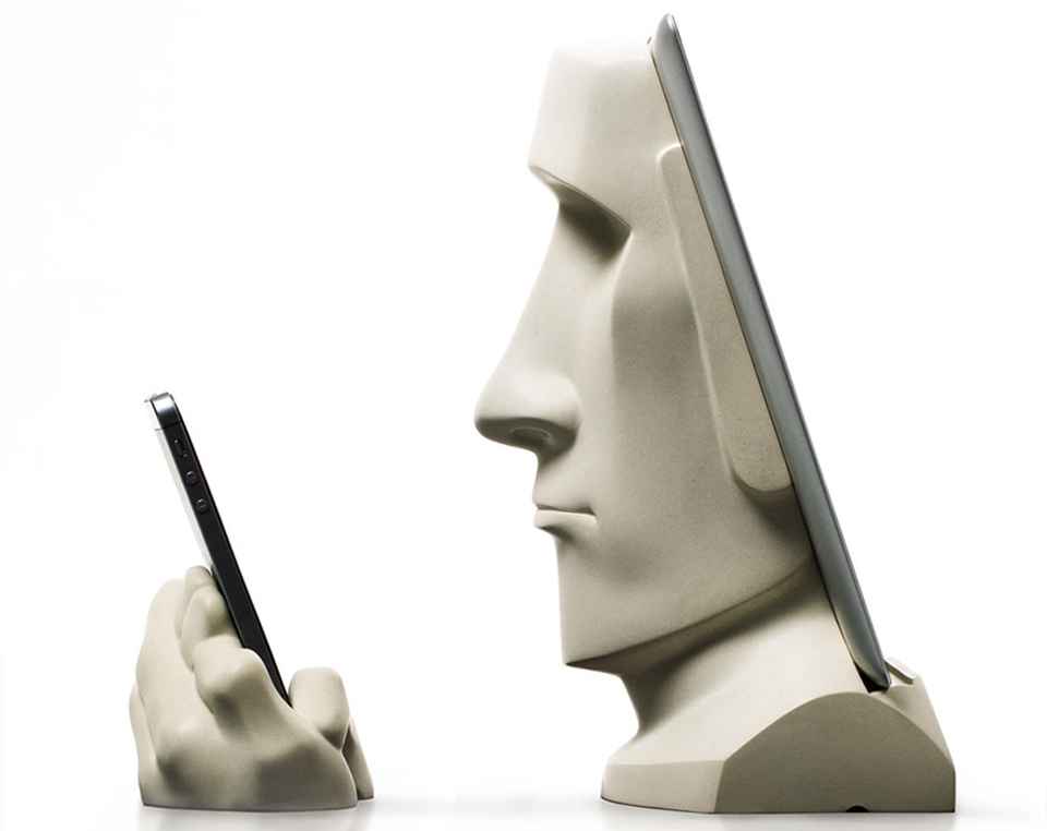 Moai iPadiPhone docking station