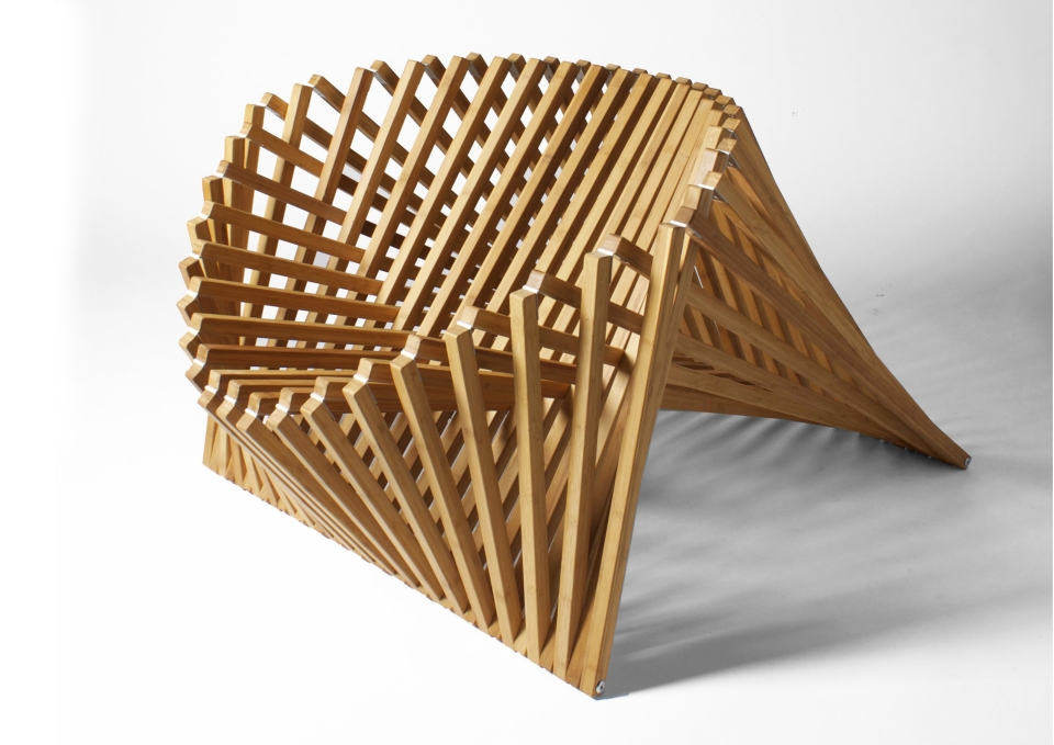 The chair is capable of dictating its own design