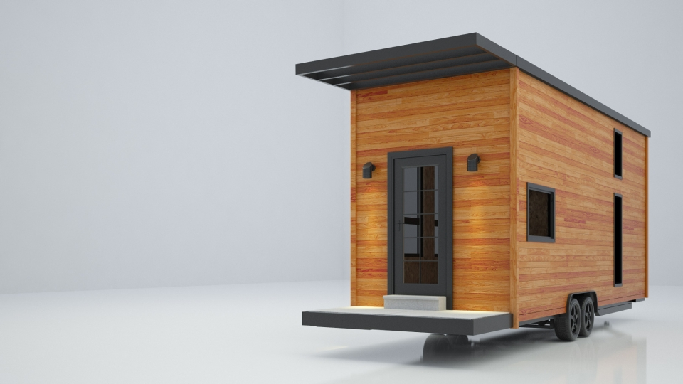 Sequoia Tiny Mobile Home by Minimaliste