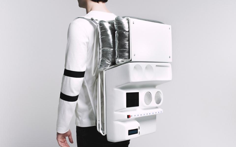 Technopicnic Backpack by AtelierTERATOMA