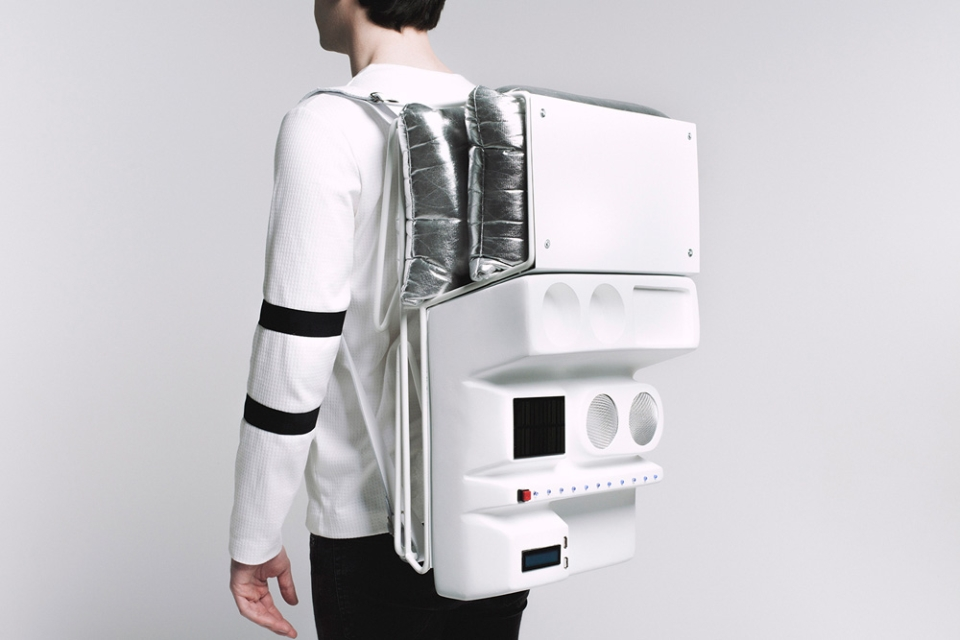 Technopicnic Backpack by AtelierTERATOMA