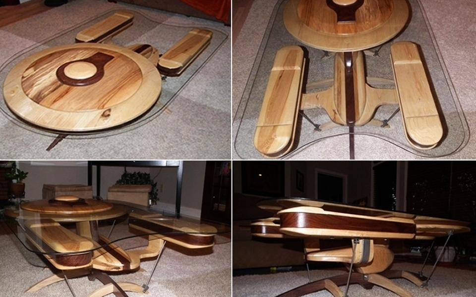 USS Enterprise coffee table #2