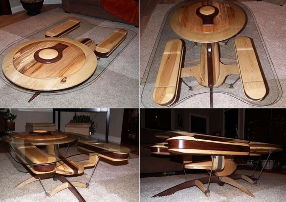 USS Enterprise coffee table #2
