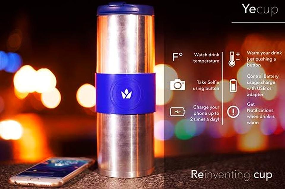 Yecup Smart Travel Mug