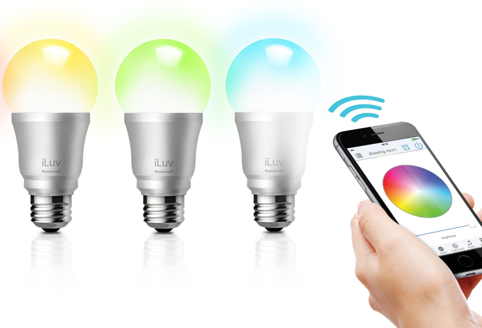 iLUV Rainbow7 Smart LED Light Bulb