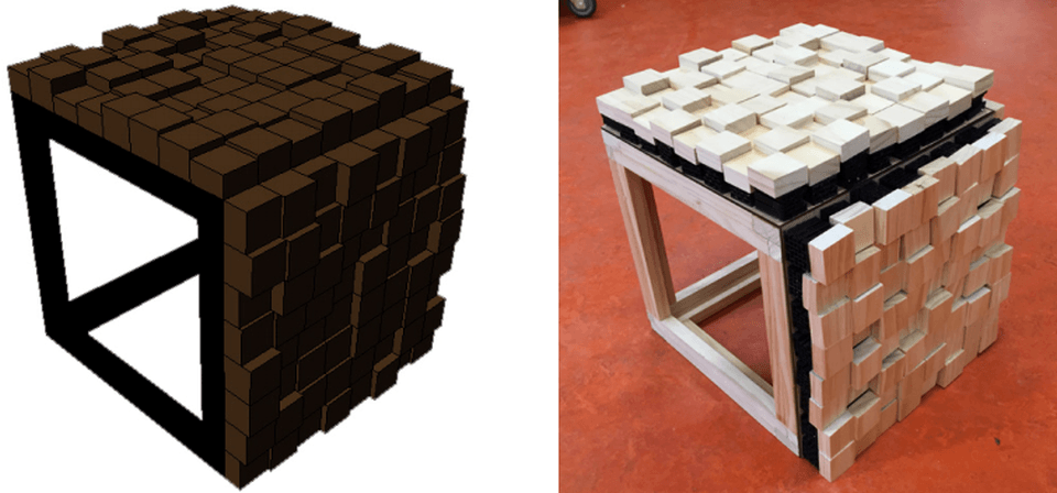 3D Printed Table by Joshua Stellini