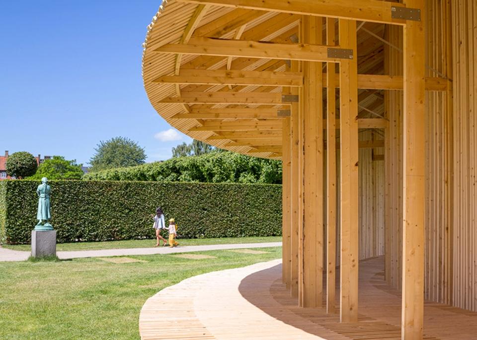 Around Pavilion