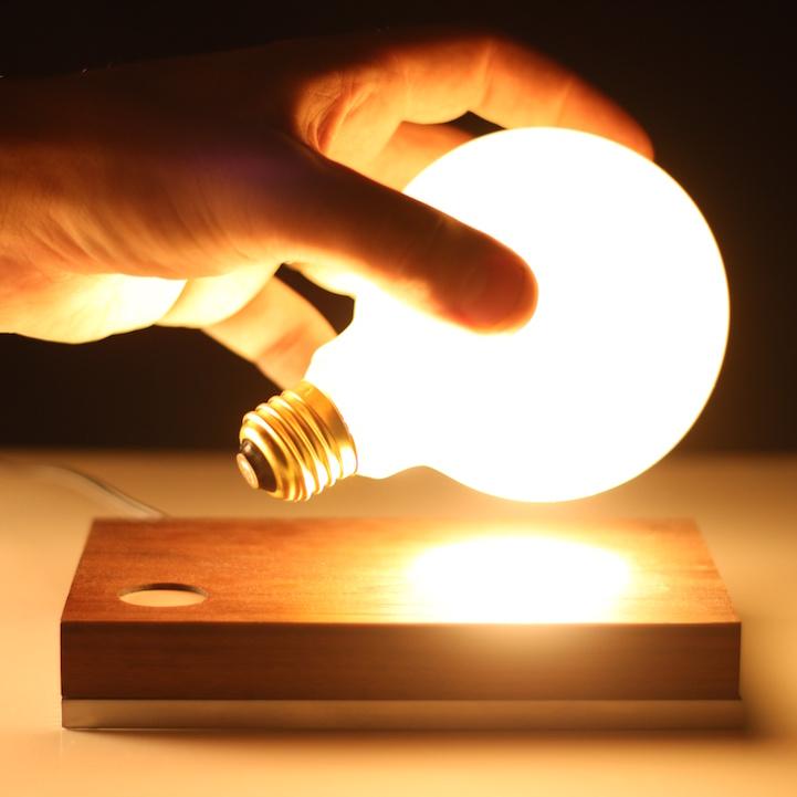 Even a light bulb glows in it's 410 lumens of super bright light