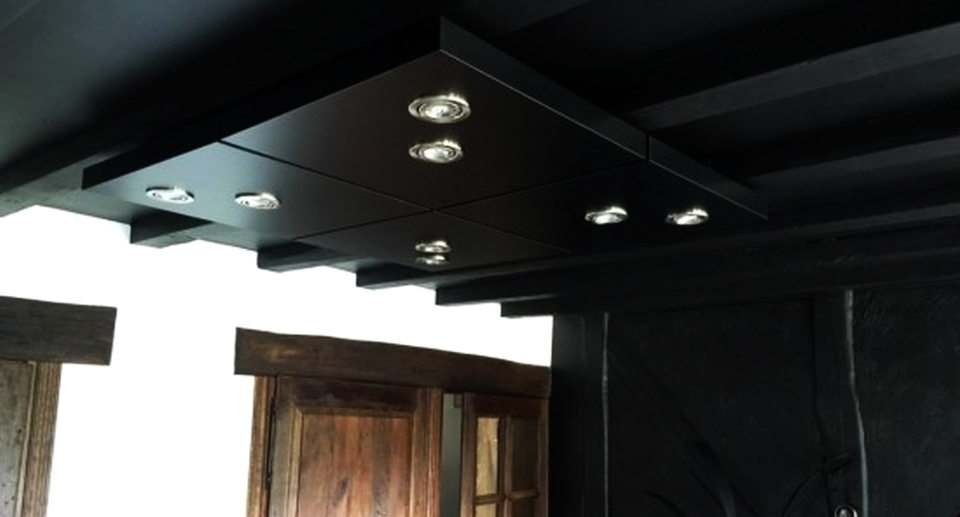 Diy Kitchen Ceiling Lighting Made From
