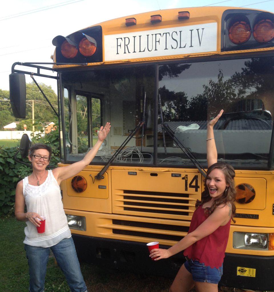Friluftsliv school bus