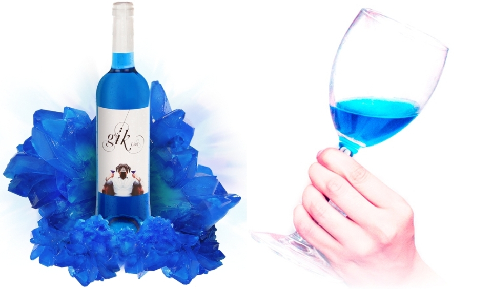 Gik World's First Blue Wine