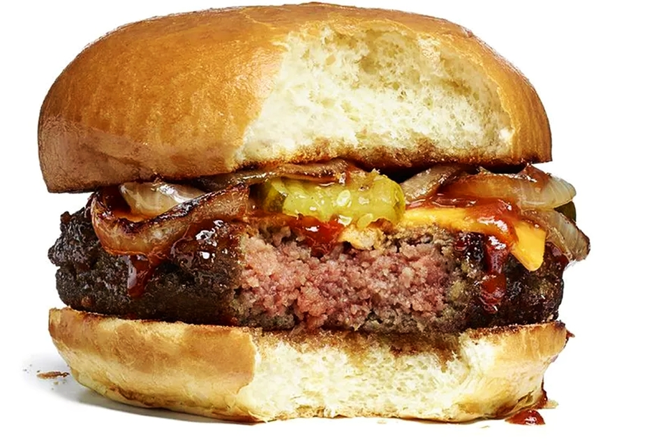 Impossible Cheese Burger