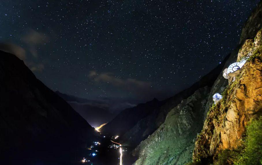Skylodge Adventure pods - Calca Cusco Peru