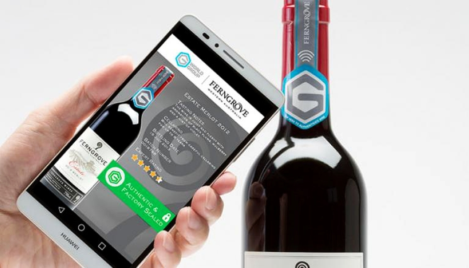 Smart Wine Bottle